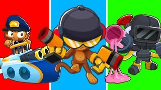 Bloons TD 6 - 4-Player Double Guns Challenge | JeromeASF