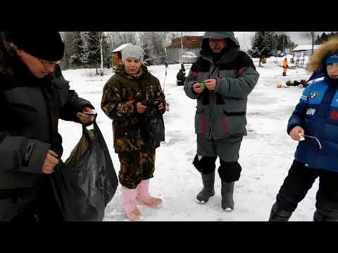 Видео отчет о рыбалке за 5 января 2020
