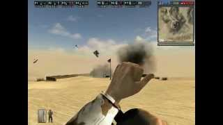 A movie made by the Desert Combat mod developers showing us the new features of version 0.3. Desert Combat was a very popular mod for Battlefield 1942.