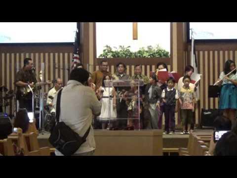 Indonesia Bermazmur 2014 - GII Sacramento, Persembahan Pujian Sunday School GKI Sacramento