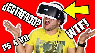 ¿Valen la PENA COMPRAR las PLAYSTATION VR de SONY? (PS4 VR) ¿SON UNA ESTAFA?