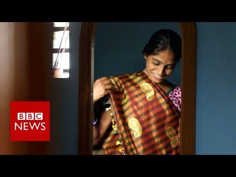The farmers using sewage to make saris - BBC News