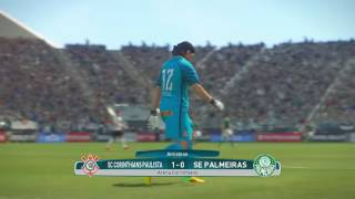 CORINTHIANS X PALMEIRA AMISTOSOS PLAYGAME   PES 2017 !