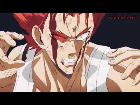 Garou vs Genos, Bang & Bomb | Saitama & King vs Elder Centipede