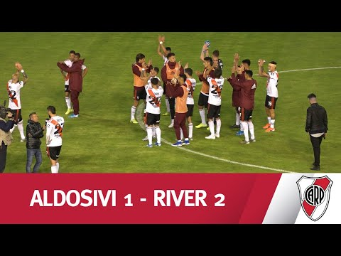 ¡FELICES EN LA FELIZ! Mirá el resumen del triunfo de River frente a Aldosivi en Mar del Plata