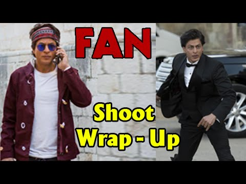 Shahrukh Khan's Fan's Shooting Wraps-Up!