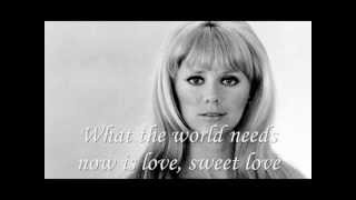 Jackie Deshannon videoclip What The World Needs Now (Lyrics On Screen)
