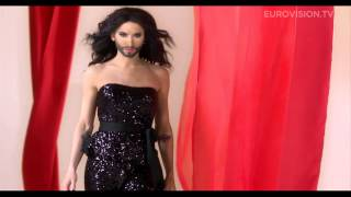 powered by: http://www.eurovision.tv Conchita Wurst will represent Austria at the 2014 Eurovision Song Contest in Copenhagen ...