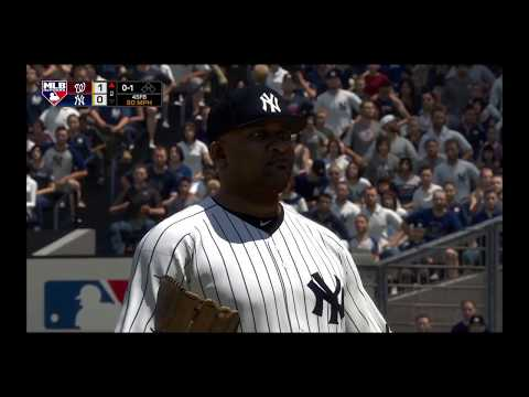 Nationals @ Yankees MLB The Show 18 Gameplay