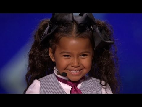 Download America's Got Talent 2015 S10E06 Heavenly Joy Jerkins 5 Year Old Singer Is The Next Shirley Temple