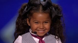 Video America's Got Talent 2015 S10E06 Heavenly Joy Jerkins 5 Year Old Singer Is The Next Shirley Temple MP3, 3GP, MP4, WEBM, AVI, FLV April 2019
