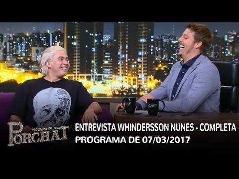 Entrevista Whindersson Nunes (completa) | Programa do Porchat 07/03/2017