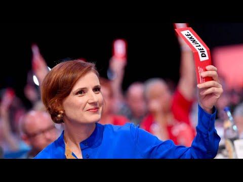 """Linkspartei entscheidet sich für """"offene Grenzen"""" ( ..."""