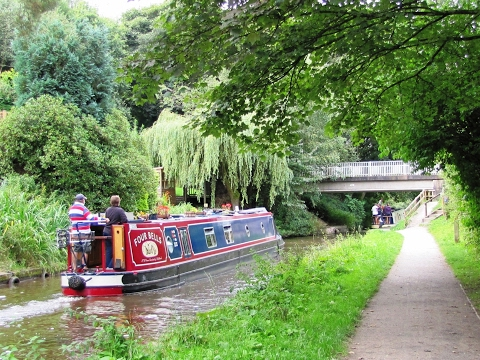 Canal Walk   Caldon Canal and Stanley Pool from Deep Hayes Country Park round | staffordshire walks  Walks