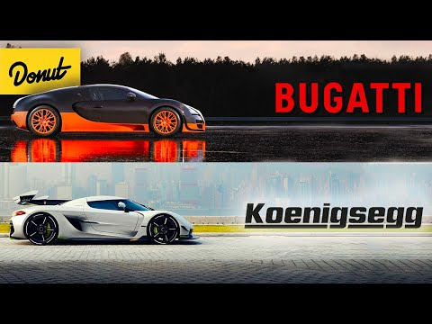 Bugatti vs Koenigsegg - Which is the BETTER Hypercar (and WHY)