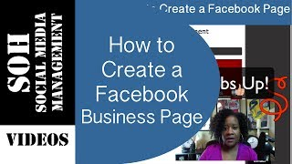 2015 Facebook Tutorial - How To Create A Facebook Business Page