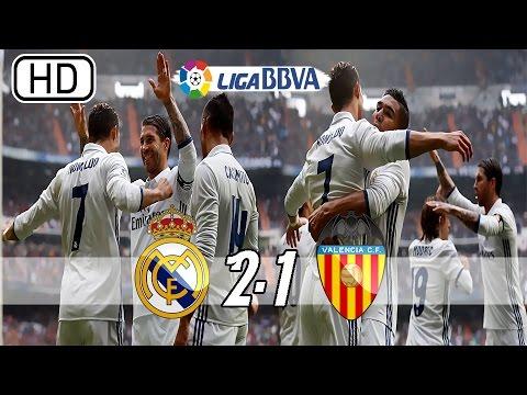 Real Madrid vs Valencia 2-1 - All Goals & Extended Highlights - La Liga 29/04/2017 HD