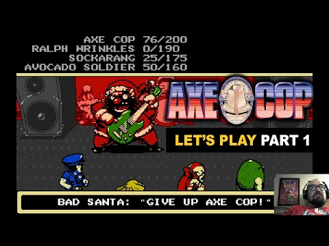 Let's Play: Axe Cop Part 1