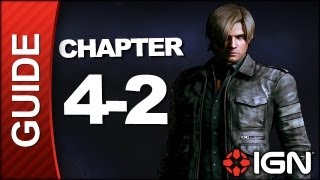Resident Evil 6: Leon Kennedy Campaign Walkthrough - Chapter 4 pt 2