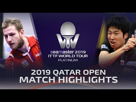 Jun Mizutani Vs Pavel Sirucek | 2019 ITTF Qatar Open Highlights (R16)