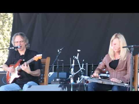 Sonny Landreth and Cindy Cashdollar at EarleFest