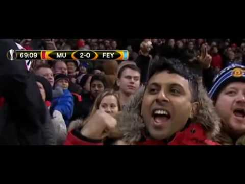 Manchester United vs Feyenoord //4-0 Highlights //24-11-16//
