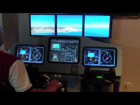 Homemade Cockpit B737 - Flight Simulator X