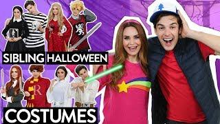 Video 6 Sibling Halloween Costume Ideas! w/ My Brother MatPat! MP3, 3GP, MP4, WEBM, AVI, FLV Agustus 2019