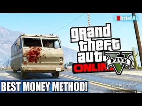 GTA 5 BEST & Easy Money Method! How To Make Money FAST In GTA 5 Online! (GTA V Best Money Method)