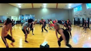 Halloween Zumba ( Becky G - Problem Monster Remix )