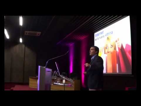 Matias Spagui de Google en Seminario de Marketing y Tecnologias como Herramientas de Innovacion para las Empresas