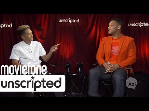 Unscripted - Subscribe to Moviefone Today: http://bit.ly/15j8XWV Watch The Latest Movie Trailers Here: http://goo.gl/SOiJf **** More Below **** Will and Jaden Smith answe...