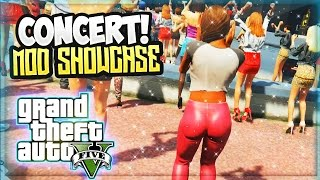 GTA V: The Concert Massacre ! (GTA 5 Mods Gameplay Showcase) Ultra Music Festival 2015