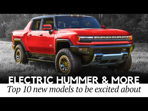 All-Electric GMC Hummer Truck and 10 Other EVs to be Excited About in 2021