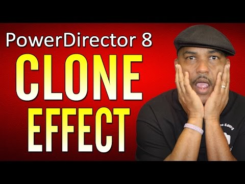 cyberlink - Tutorial on how to clone in CyberLink PowerDirector 8. Watch this demo and tutorial of power director to see how to clone yourself and others in powerdirecto...