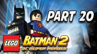 LEGO Batman 2 DC Super Heroes Walkthrough - Part 20  Mr. Luthor is Expecting You
