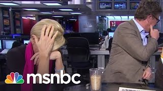 """Mika Brzezinski learns what a """"Furry"""" is and promptly runs off set. » Subscribe to msnbc: http://on.msnbc.com/SubscribeTomsnbc..."""