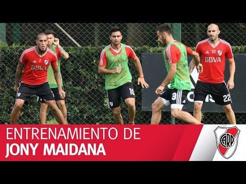 Mirá el entrenamiento de Jony Maidana