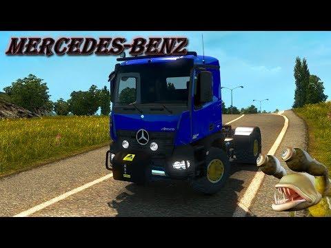 MERCEDES BENZ AROCS AGRAR ETS2 1.30.x