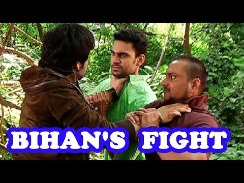 Bihan to save Thapki from goons