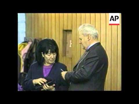 File pictures of former Yugoslav president