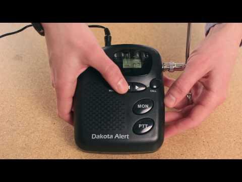 How to Set Up the Dakota Alert Long-Range Driveway Alarm - Dakota Alert MURS tutorial