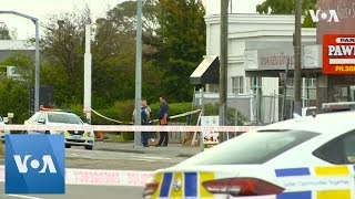 New Zealand: Christchurch in lockdown after mosque shootings kill at least 49