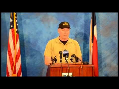 San Marcos Flooding Press Conference May 25, 2015 4PM