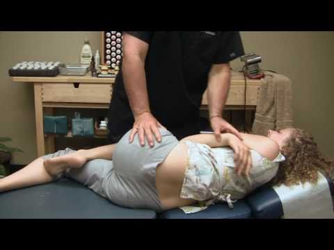Hip - Circle Us On Google Plus @ https://plus.google.com/+psychetruth First Time Chiropractor Hip Adjustment Demonstration by Austin Chiropractic Care Dr. Echols i...