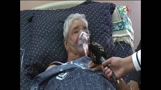 التلفزيون يطمئن على الحالة الصحية للفنان محمد حزيم
