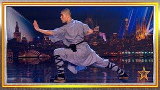Video Chinese KUNG FU Warrior stuns the JUDGES   Auditions 8   Spain's Got Talent 2019 MP3, 3GP, MP4, WEBM, AVI, FLV Juli 2019