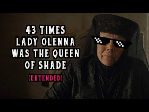 """43 Times Lady Olenna From """"Game of Thrones"""" Was The Queen of Shade (Extended)"""