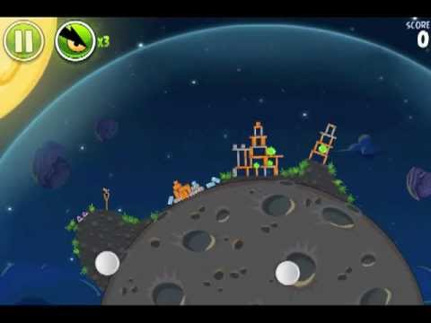 Angry Birds Space Level 1-22 Pig Bang Walkthrough Lösungen 3 Stars IPad3 IPhone4S Android