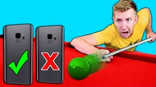 Video DO NOT Try Phone TRICK SHOTS in REAL LIFE Challenge! MP3, 3GP, MP4, WEBM, AVI, FLV Agustus 2018
